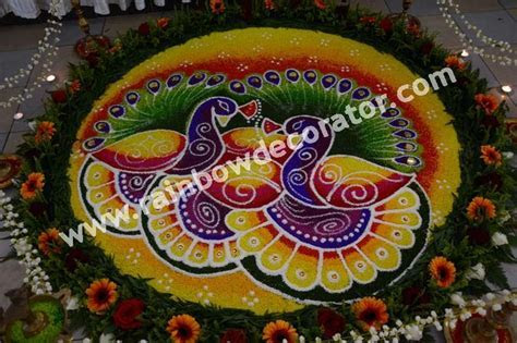 7 best Indian Wedding Rangoli / Kolam images on Pinterest