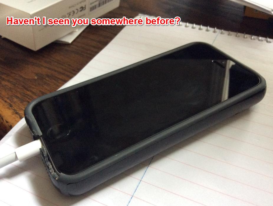 This iPhone SE seems eerily familiar