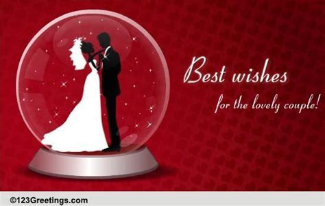 Wedding Wishes For A Lovely Couple  Free Wishes eCards