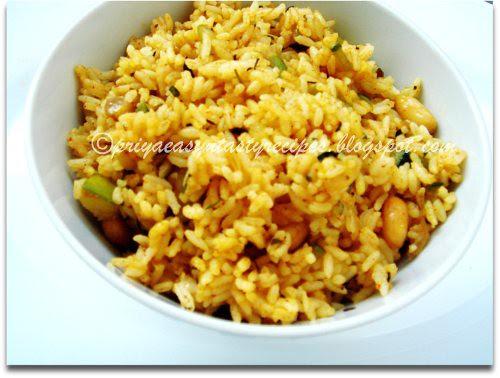 MW Zucchini & Peanuts Rice