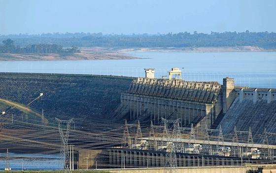 Hidrelétrica de Furnas (MG),de Furnas Centrais Elétricas,subsidiária da Eletrobras (Foto:  Paulo Santos/REUTERS)