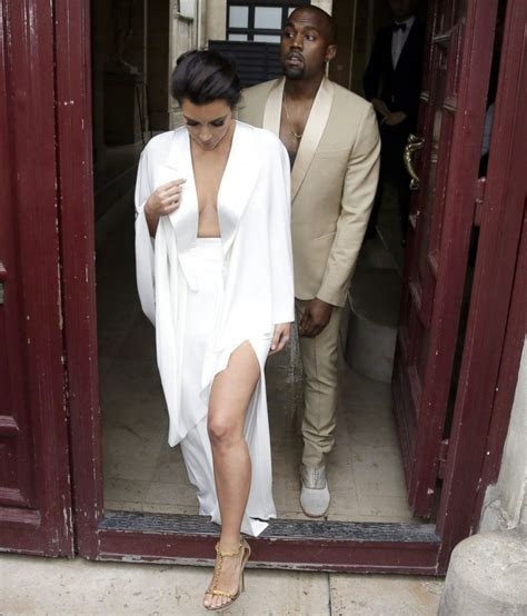 Kanye West All White Outfit