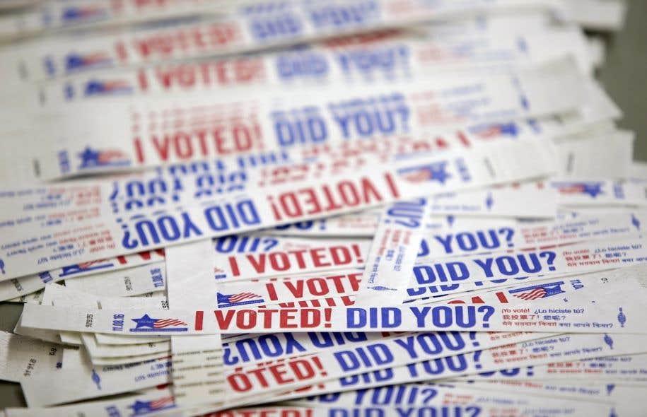 Environ 40% des électeurs américains ont voté, par la poste ou en personne, avant l'élection du 8novembre.