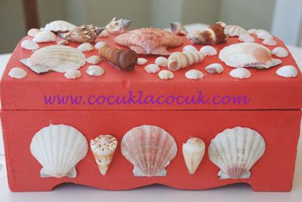 Deniz Kabuklu Kutu Cocuklacocuk