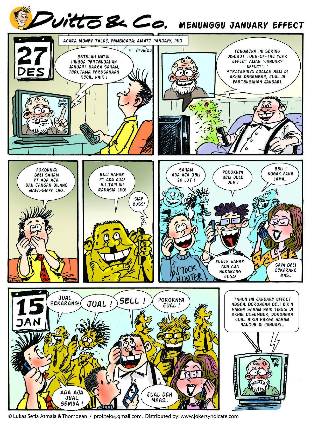 Koleksi Komik Komik Dan Investasi