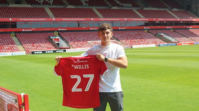 Joe Willis 'Can't Wait to Get Going' After Penning First Pro Deal