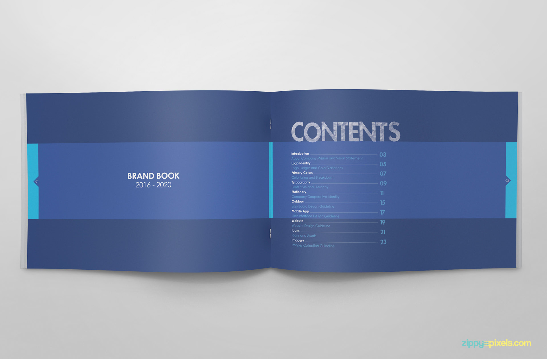 04 brand book 02 table of contents