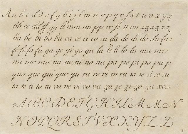 La penna da scrivere - Francesco Polanzani, 1768 b