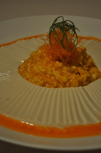 tofu with hairy crab roe