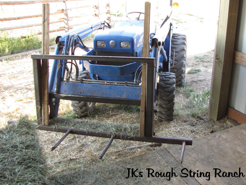 Forks on the Lil' Tractor