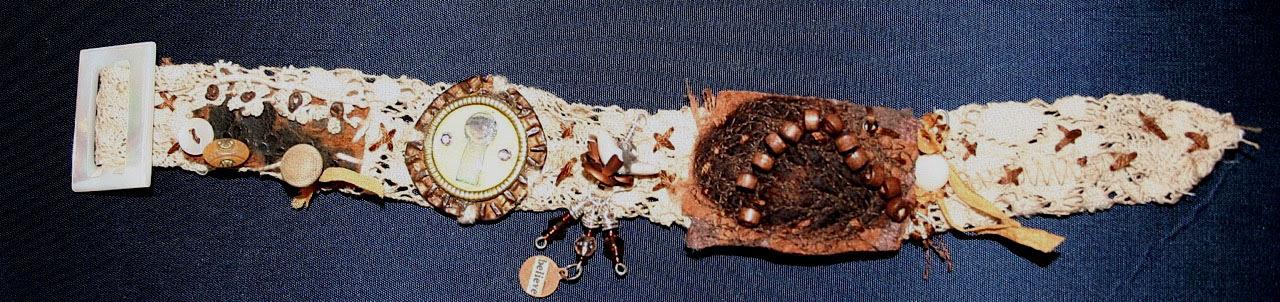 Lace buckle bracelet Jennifer Judy Joanna Ruth Liz