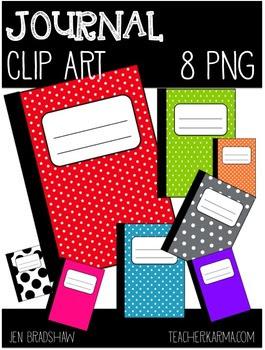 FREE Clip Art:  JOURNAL~ Notebook ~ Writing ~ Book ~ Clipa