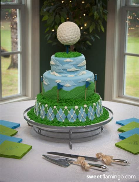 """a Groom's Cake, From The Green""   CakeCentral.com"