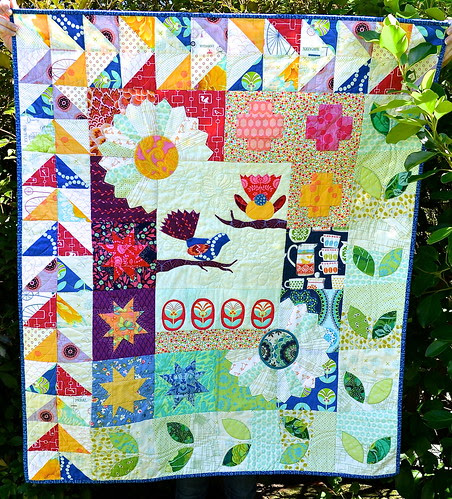 Garden for Birds Quilt