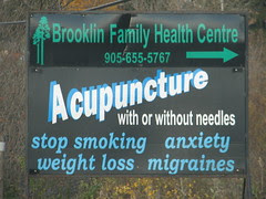 Fake-Ass Acupuncture, With or Without Needles