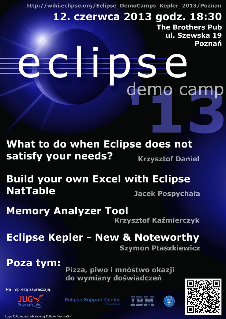 Eclipse DemoCamp Kepler 2013 in Poznan