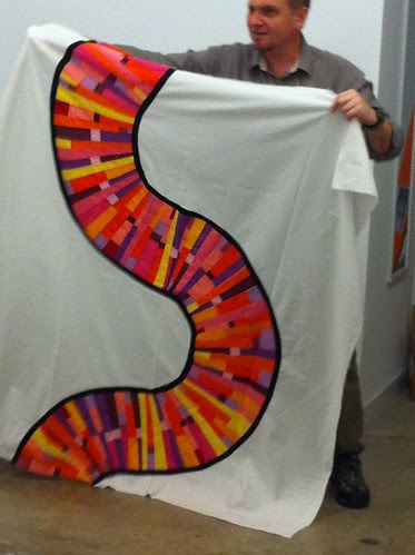 Paul's incredible string quilt