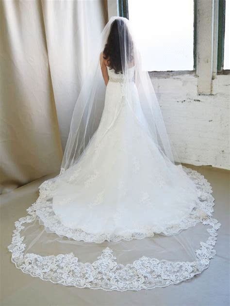 17 Best ideas about Cathedral Veils on Pinterest   Bridal