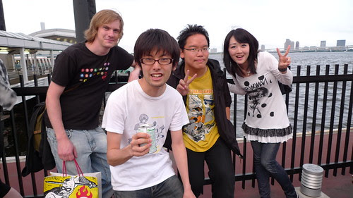 First group photo in front of Himiko