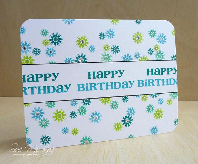 Happy Birthday Starburst