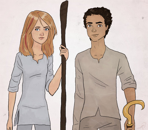 Sadie and Carter by ~thenameisbichie