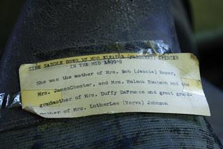 Sidesaddle label