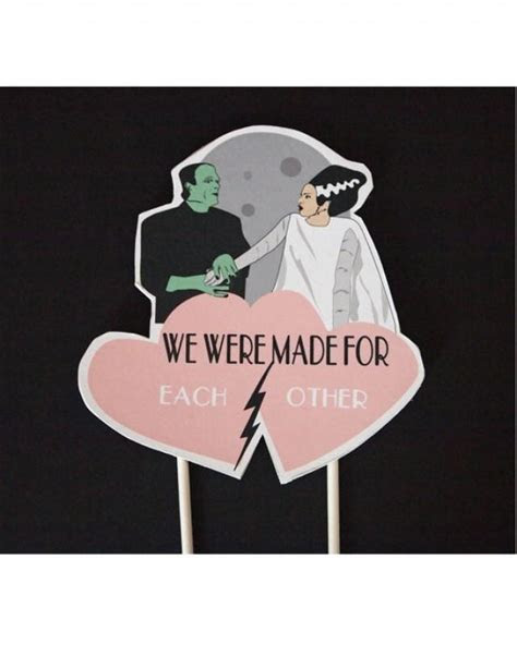Wedding Cake Frankenstein Bride Of Frankenstein Topper
