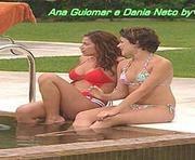 """Ana Guiomar e Dania Neto sensuais em biquini na novela """"Tempo Viver"""" @ 1920x1080"""