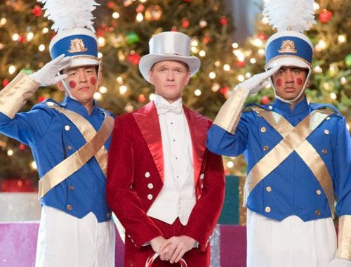 Harold and Kumar reunite with Neil Patrick Harris during a Christmas musical in A VERY HAROLD & KUMAR 3D CHRISTMAS.