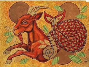 Aegipan - the Sea Goat by Lynnette Shelley