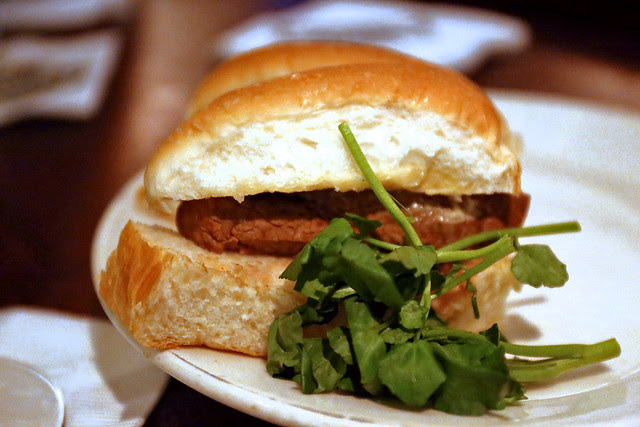 The famous Filet Mignon sandwiches