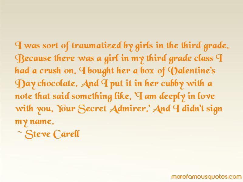 Secret Admirer Crush Quotes Top 1 Quotes About Secret Admirer Crush
