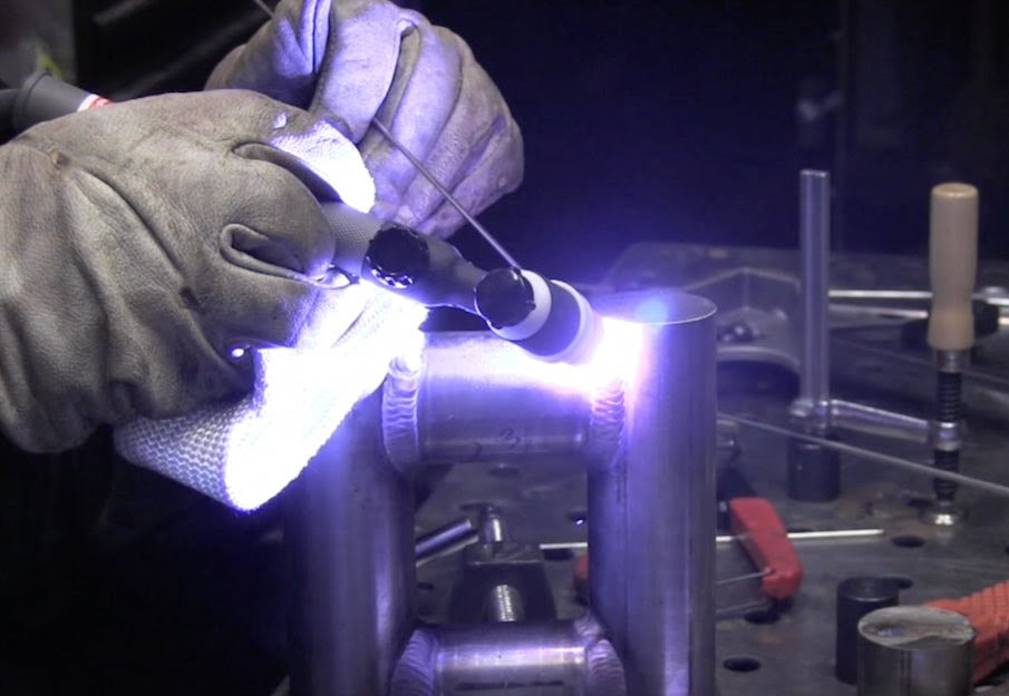 Tig Welding with a Lincoln Power Mig 210mp