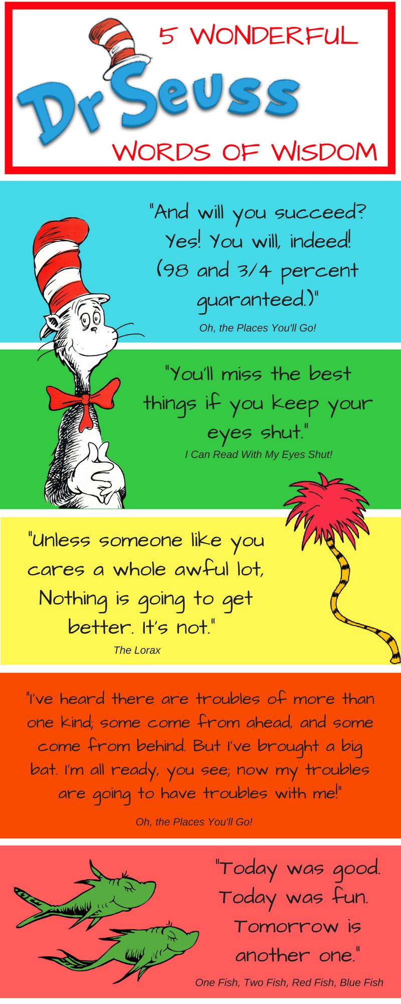 5 Wonderful Words Of Wisdom From Dr Seuss Breakaway Staffing