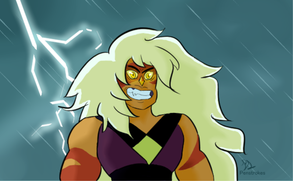SU REDRAW This is one of my favorite shots of Jasper in the entire series. I really wanted to try and bring out just how wild and desperate she was in this episode so I focused heavily on her eyes and...