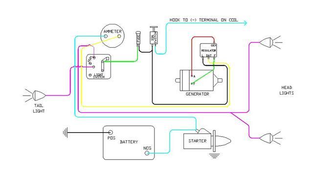 1954 Farmall 6 Volt Positive Ground Wiring Diagram 1997 Toyota 4runner Radio Wire Diagram For Wiring Diagram Schematics