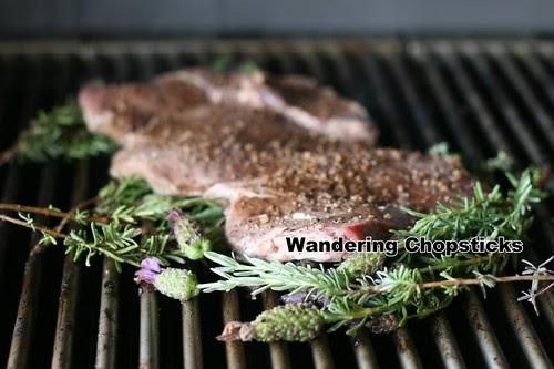 Lavender-Grilled Steak Fettucine 4
