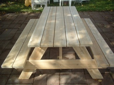 Free Picnic Table Plans 8 Foot