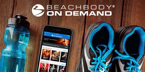 access  favorite workouts beachbody app