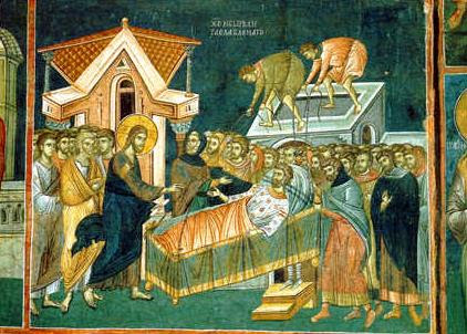 christ cures the paralytic