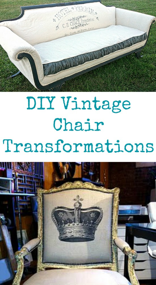 DIY Vintage Chair Transformations