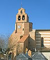 Saint-Jory - L'église Clocher mur.jpg