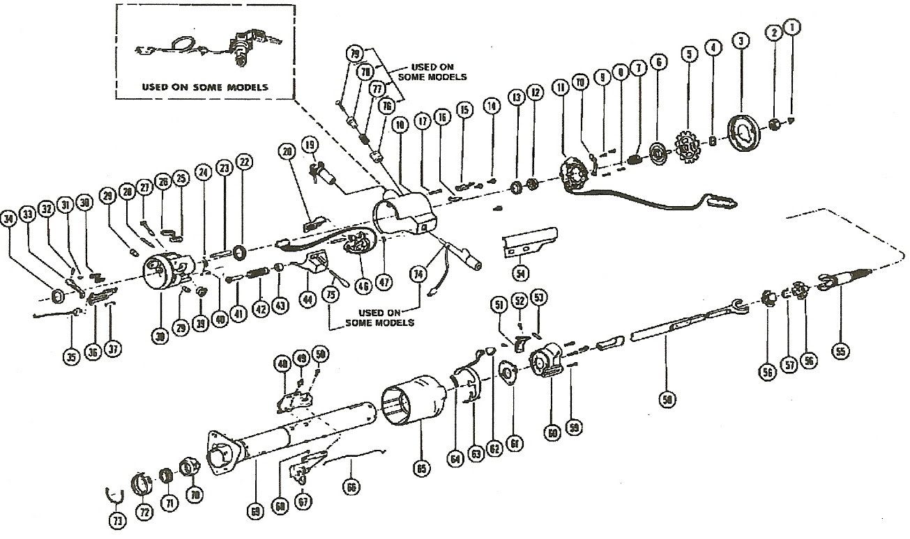 31 1985 Chevy Truck Steering Column Diagram - Wiring ...