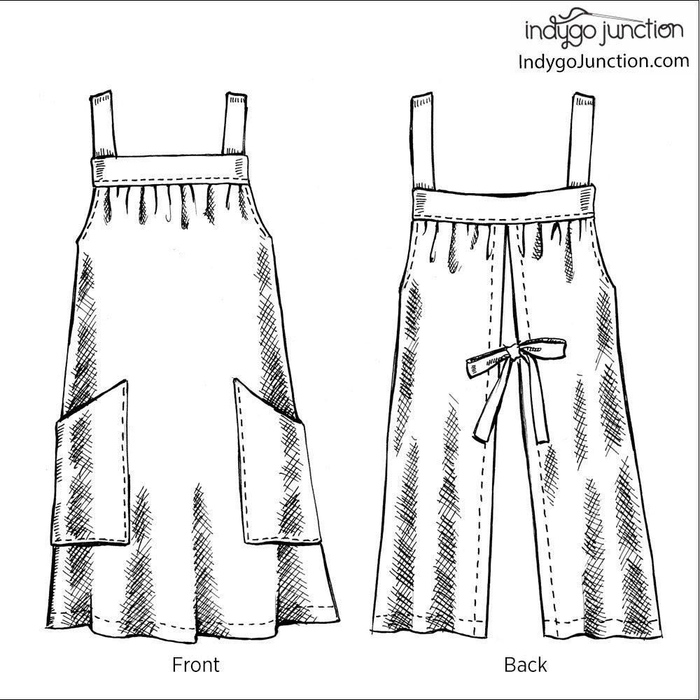 Easy On Apron Pattern