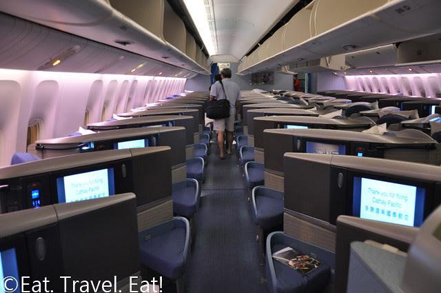 B-KPA, CX Business Class Cabin
