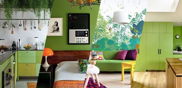 Resultado de imagem para cor pantone 2017 greenery na decoração