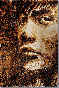 Coffee Stain Ring Portrait