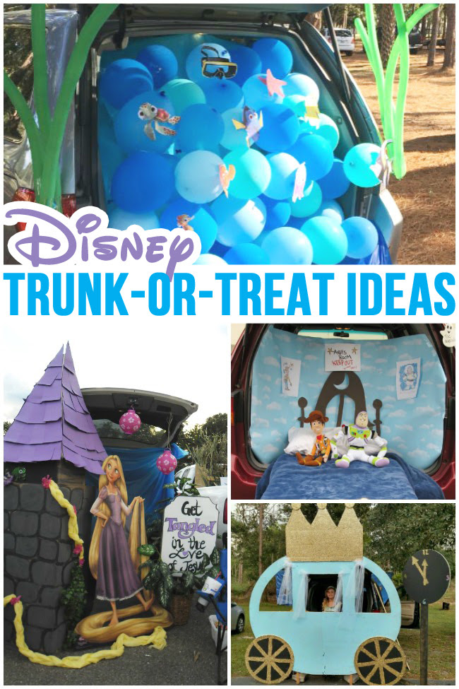 Trunk Or Treat Ideas The Nerds Wife
