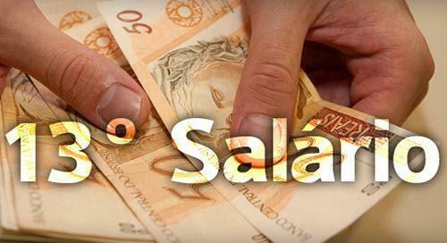 Resultado de imagem para dinheiro 13º salario