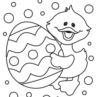 free pictures to colour easter  clipart best
